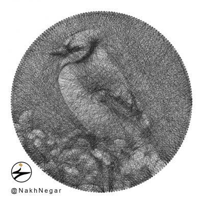تابلونخ تزئینی پرنده بلو جی