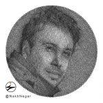 نخ نگار - تابلو میخ و نخ هدیه محسن چاوشی